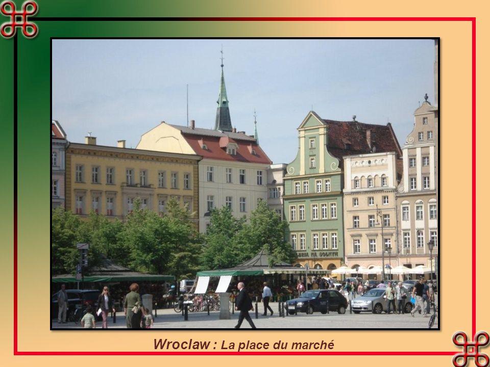 Wroclaw : La place du marché