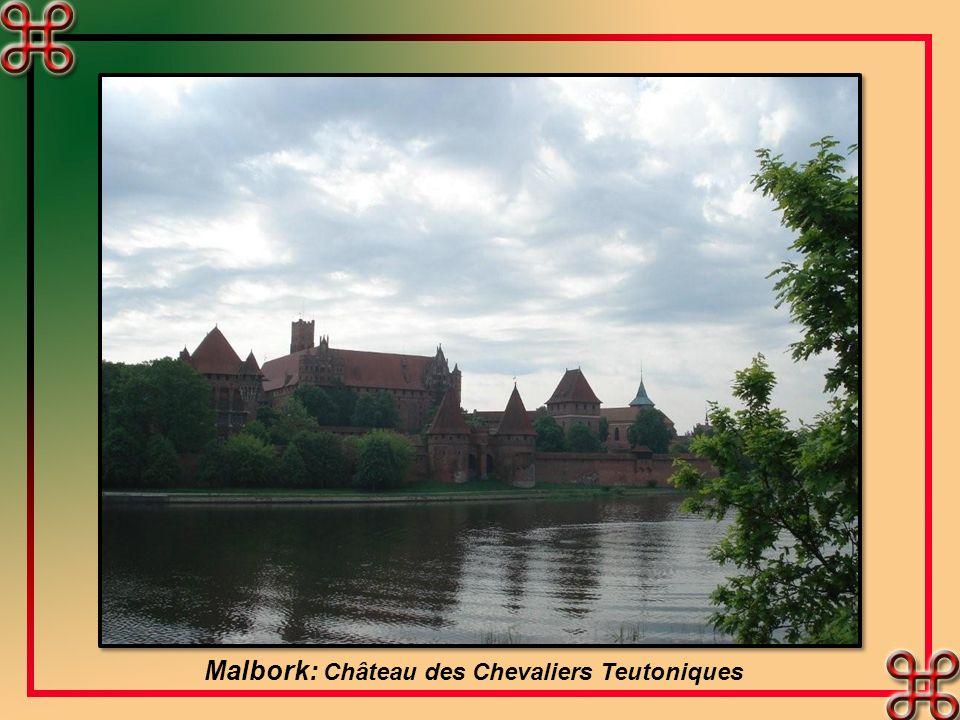 Malbork: Château des Chevaliers Teutoniques