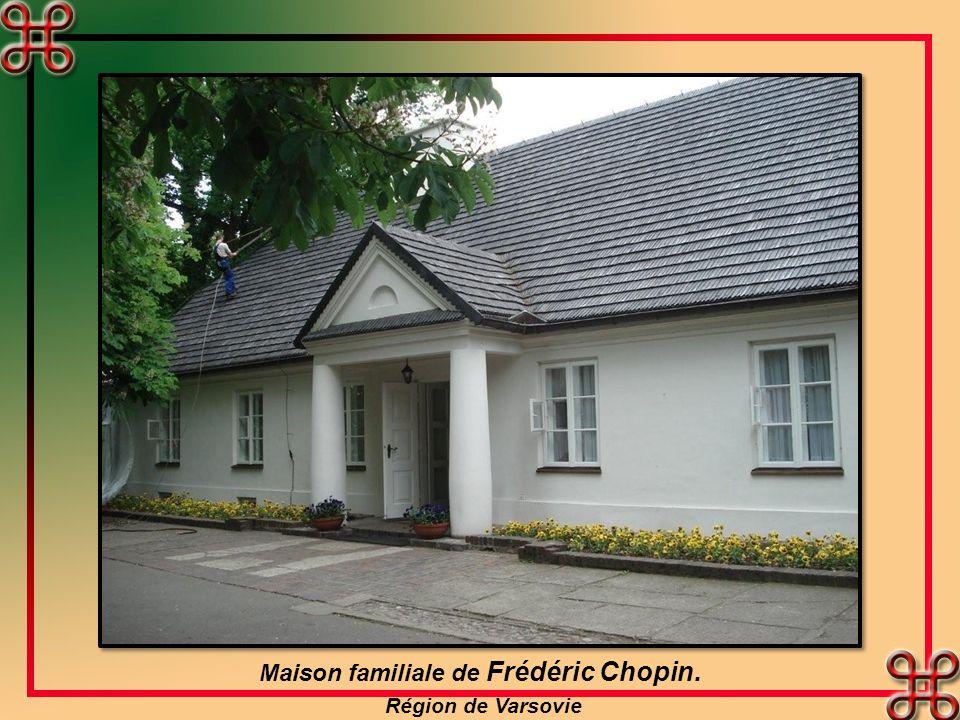 Maison familiale de Frédéric Chopin.
