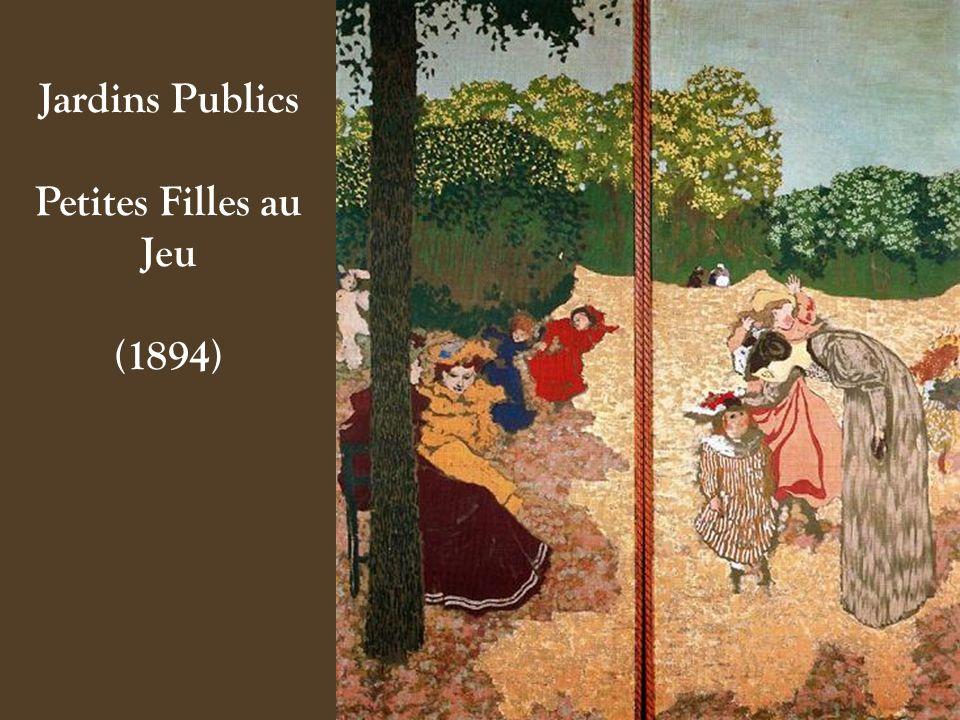 Jardins Publics Petites Filles au Jeu (1894)