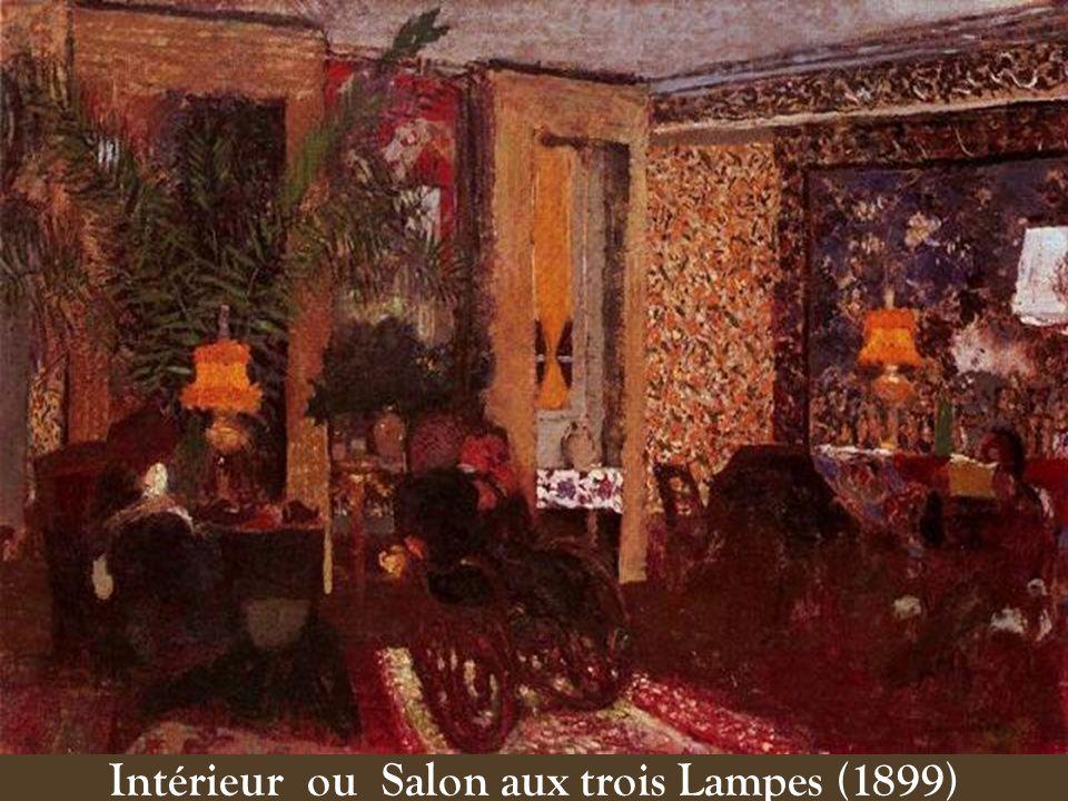 Intérieur ou Salon aux trois Lampes (1899)
