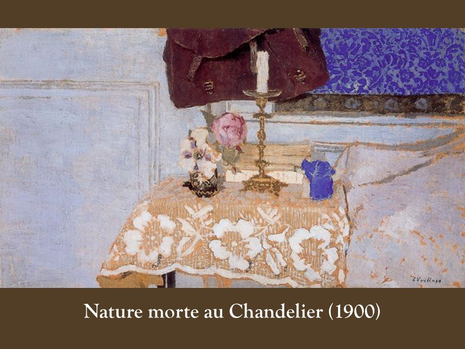Nature morte au Chandelier (1900)‏