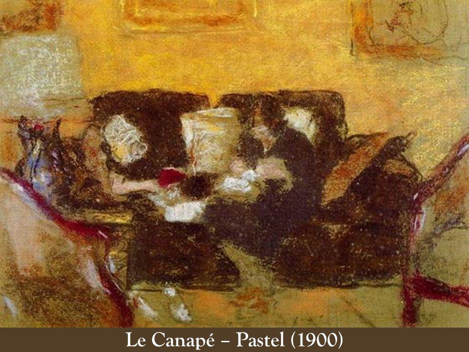 Le Canapé – Pastel (1900)
