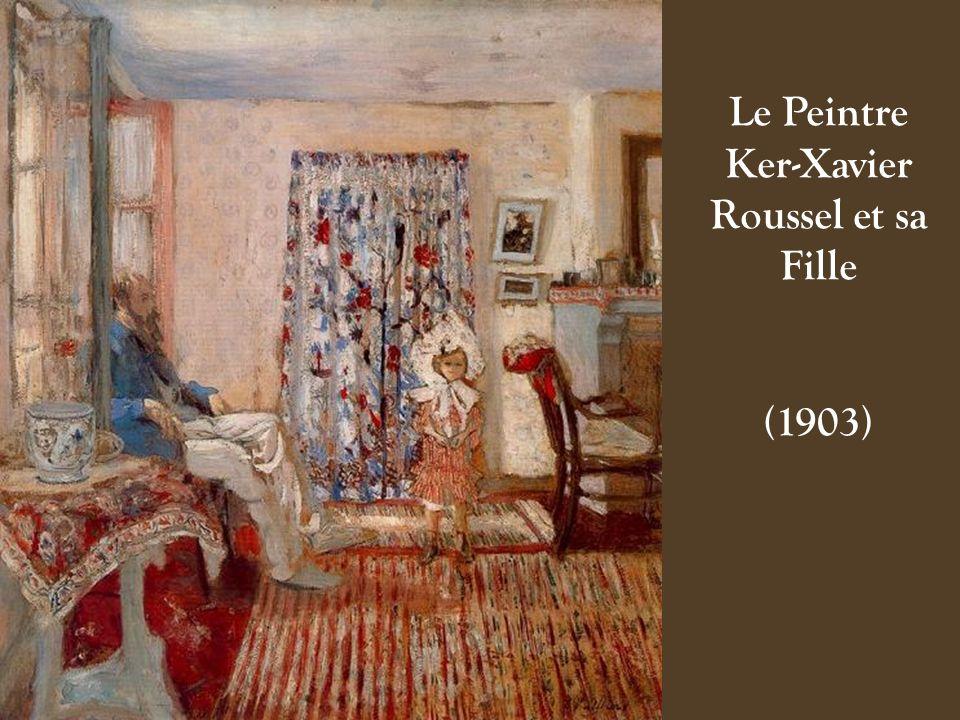 Le Peintre Ker-Xavier Roussel et sa Fille