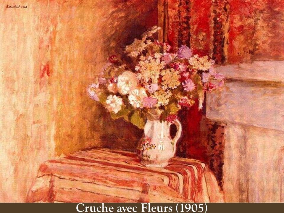 Cruche avec Fleurs (1905)