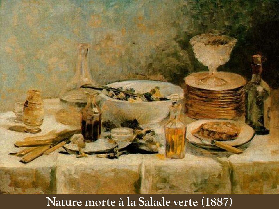 Nature morte à la Salade verte (1887)