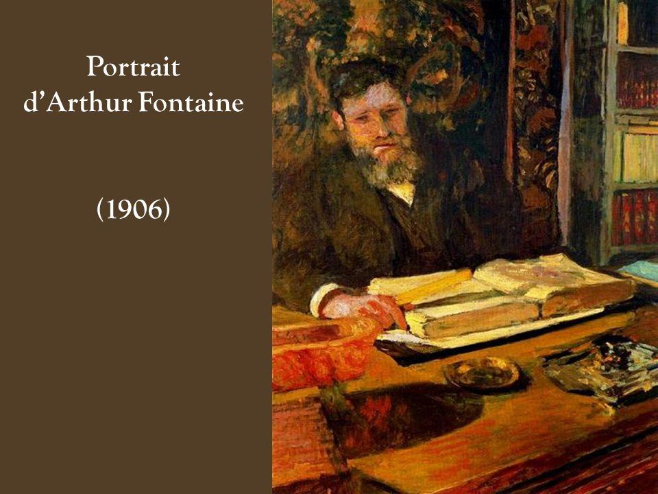 Portrait d'Arthur Fontaine
