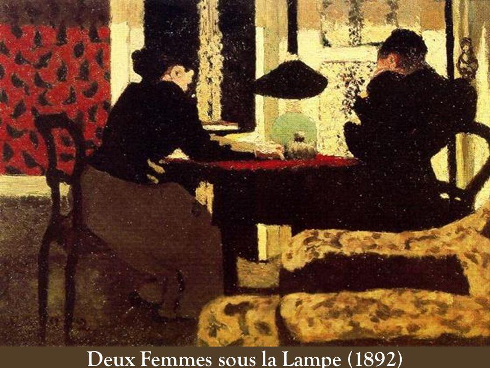 Deux Femmes sous la Lampe (1892)