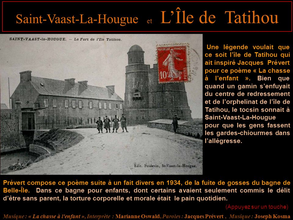 Saint-Vaast-La-Hougue et L'Île de Tatihou