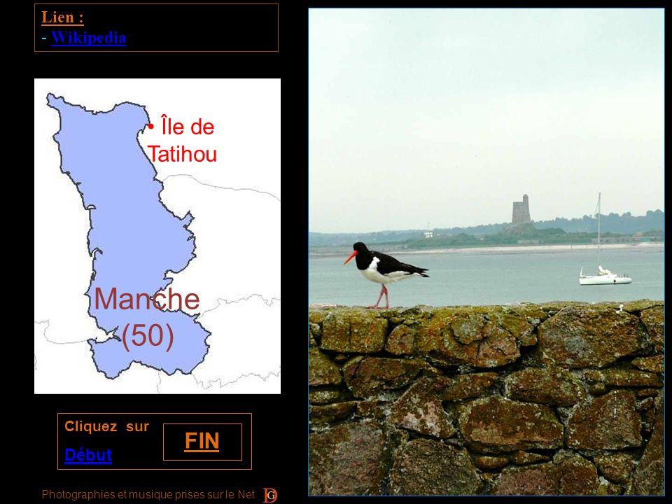 Manche (50) Île de Tatihou FIN Lien : Wikipedia Début Cliquez sur