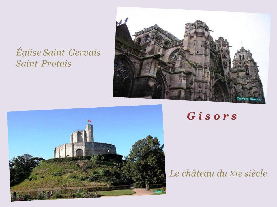 G i s o r s Église Saint-Gervais-Saint-Protais