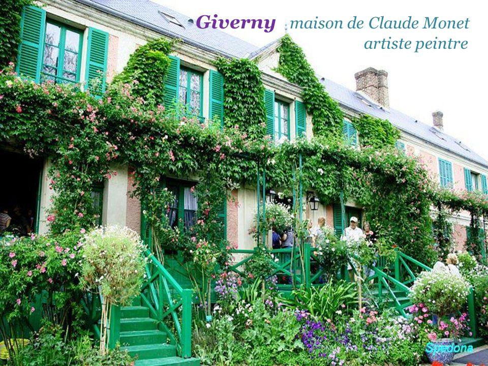 Giverny maison de Claude Monet . artiste peintre