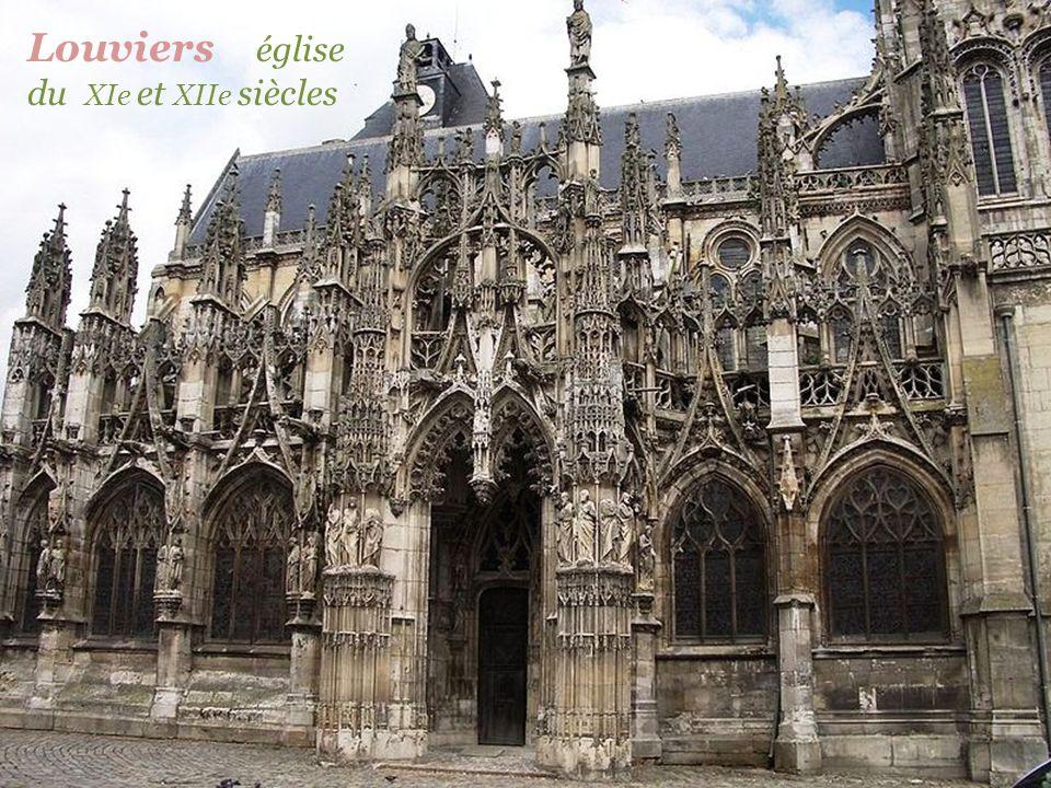 Louviers église du XIe et XIIe siècles