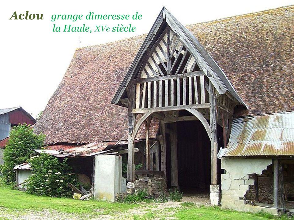 Aclou grange dîmeresse de . la Haule, XVe siècle