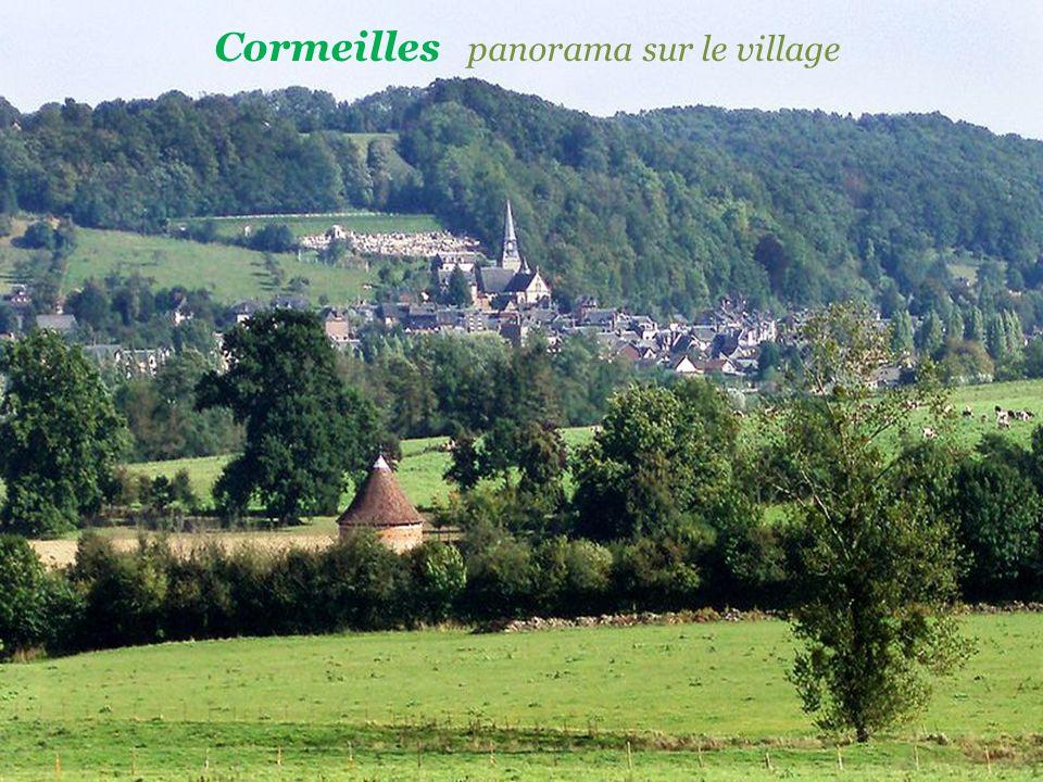 Cormeilles panorama sur le village