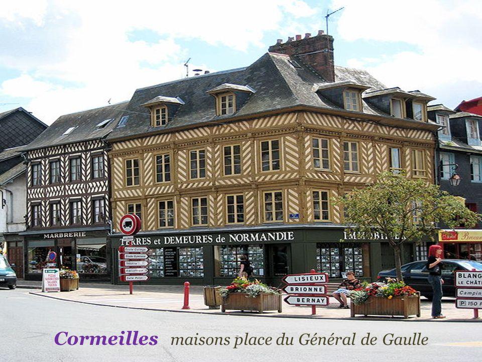 Cormeilles maisons place du Général de Gaulle