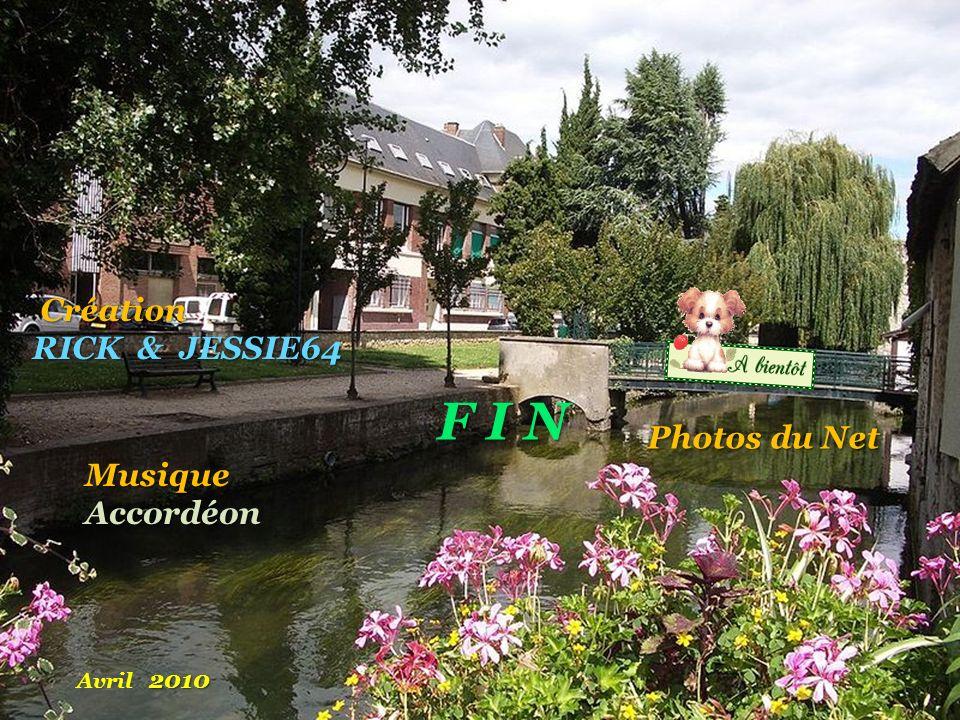 F I N Création RICK & JESSIE64 Photos du Net Musique Accordéon