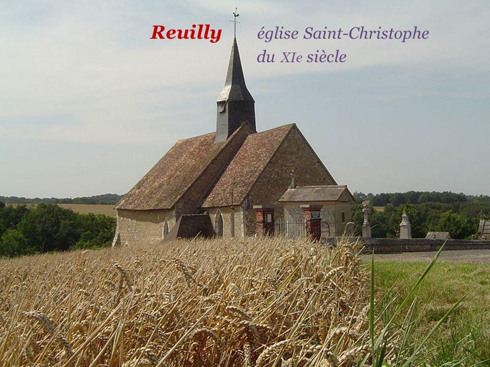 Reuilly église Saint-Christophe . du XIe siècle