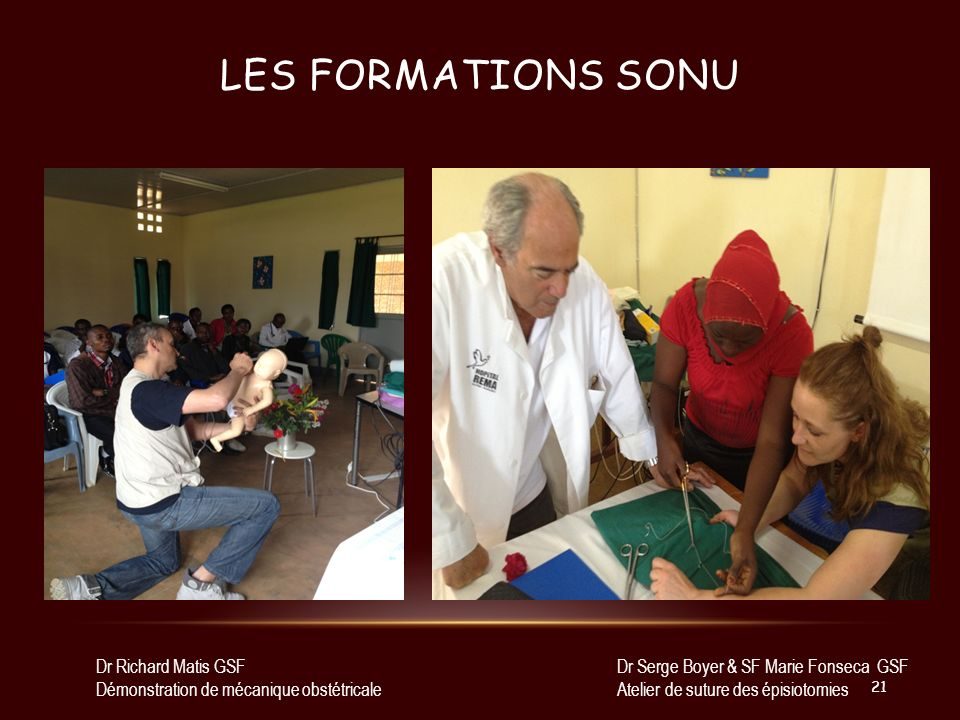 Les Formations sonu Dr Richard Matis GSF