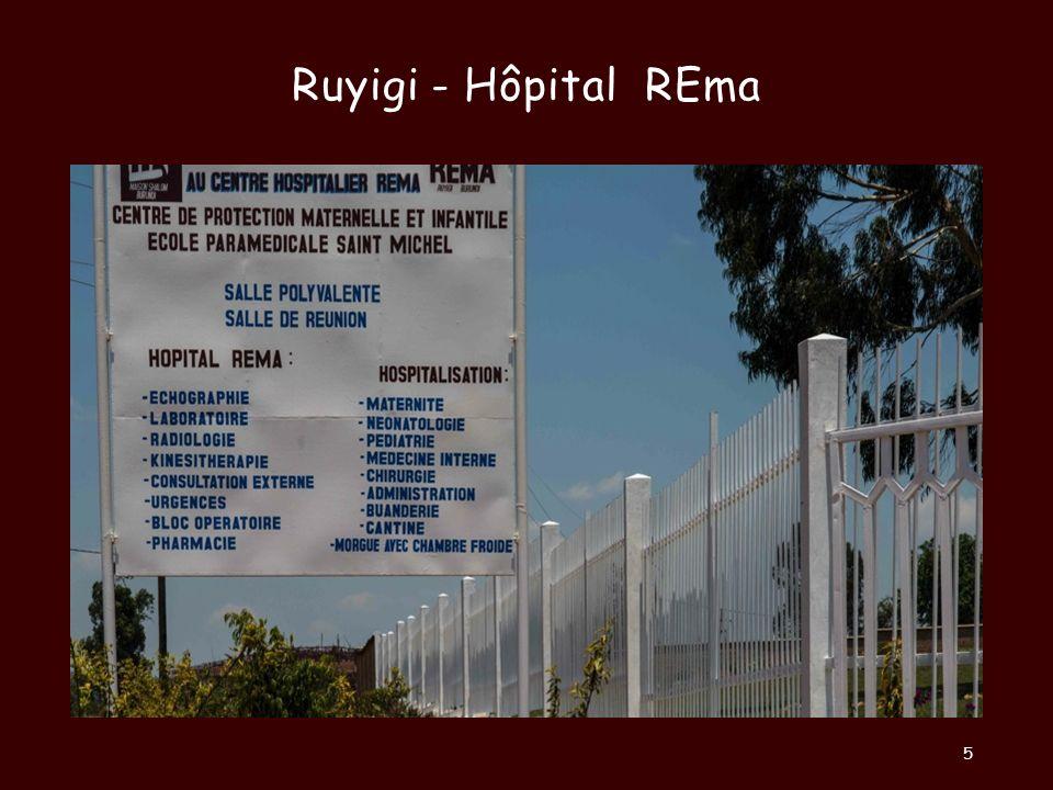Ruyigi - Hôpital REma