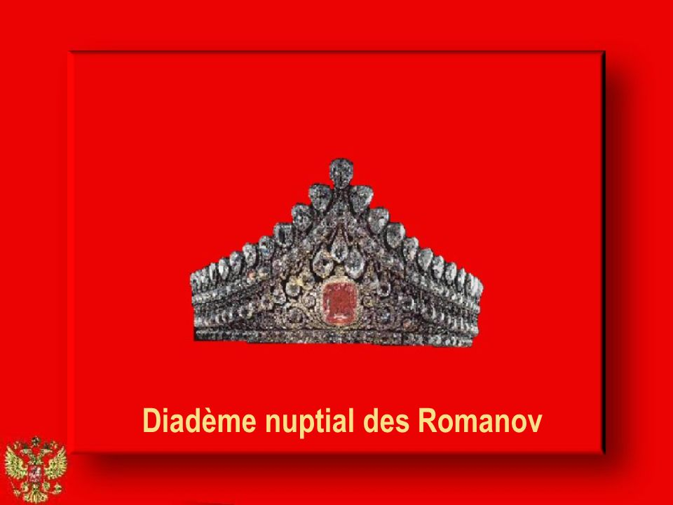 Diadème nuptial des Romanov