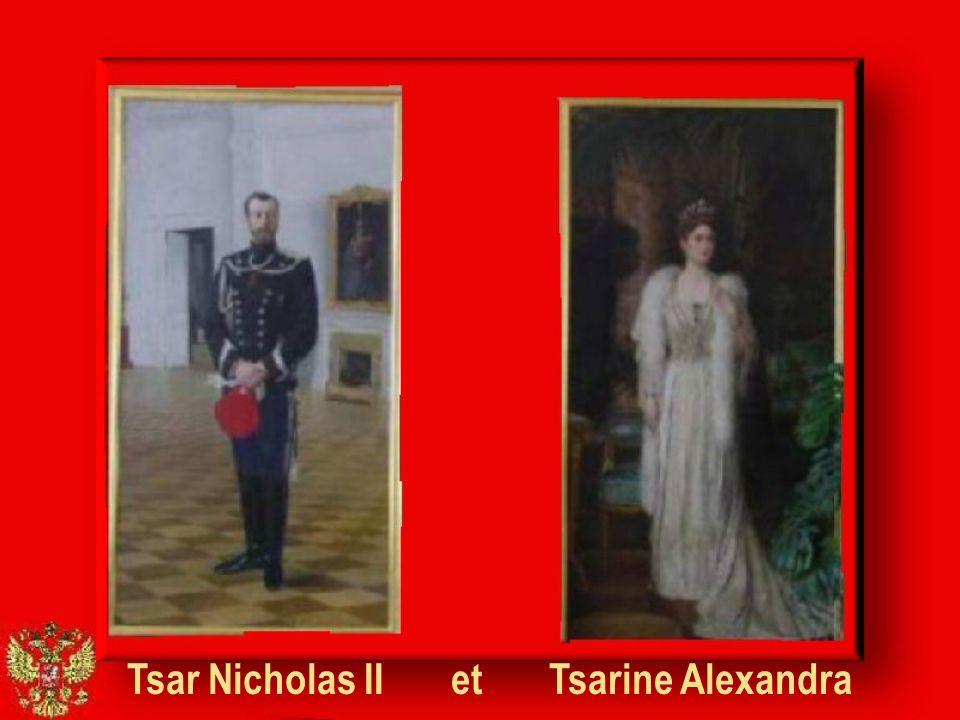 Tsar Nicholas II et Tsarine Alexandra