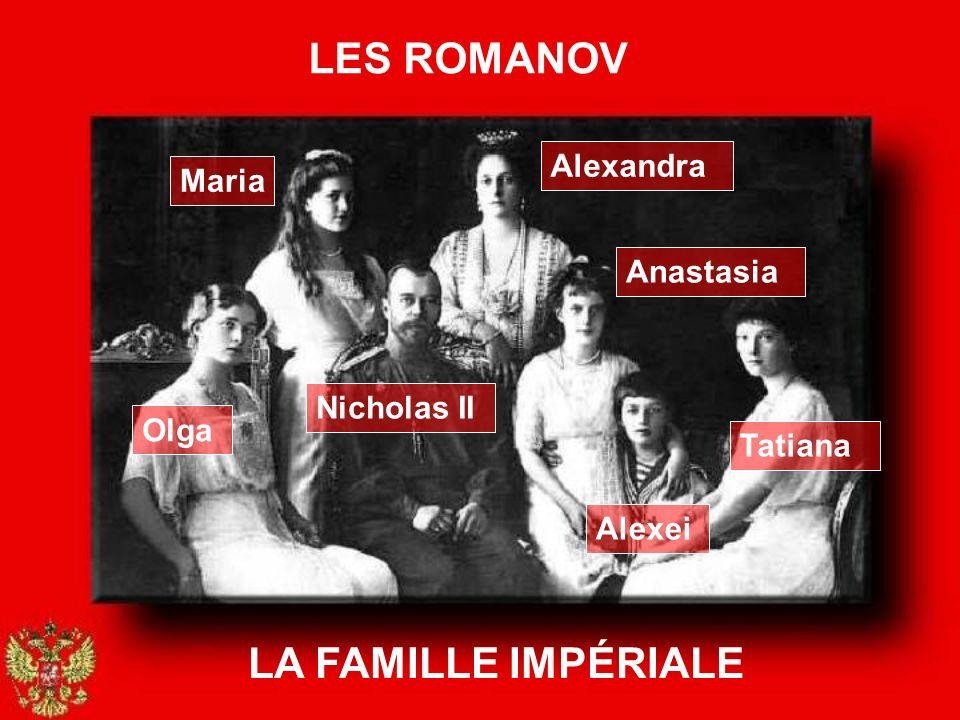 LES ROMANOV LA FAMILLE IMPÉRIALE Alexandra Maria Anastasia Nicholas II