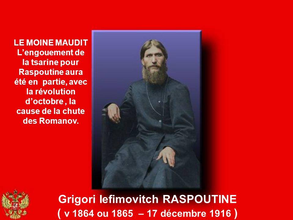 Grigori Iefimovitch RASPOUTINE