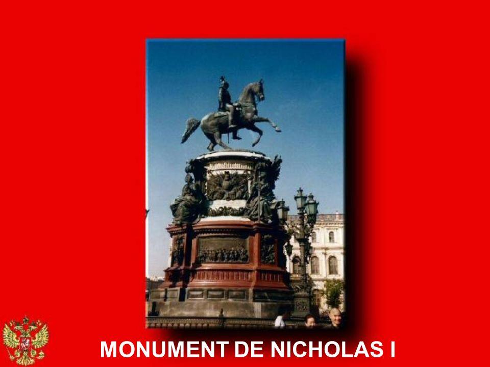 MONUMENT DE NICHOLAS I