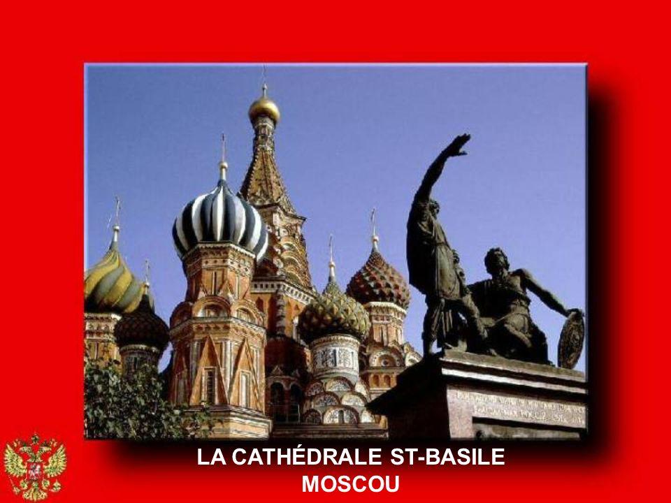 LA CATHÉDRALE ST-BASILE