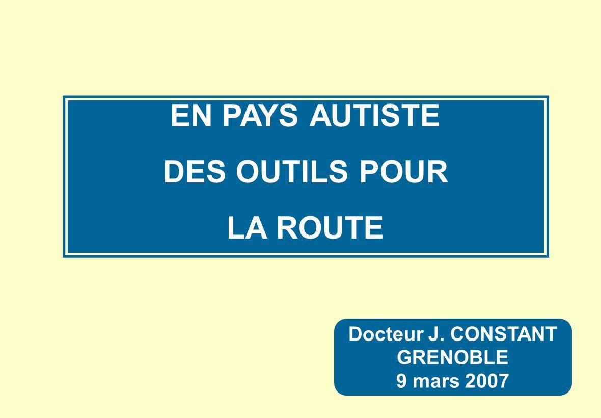 EN PAYS AUTISTE DES OUTILS POUR LA ROUTE