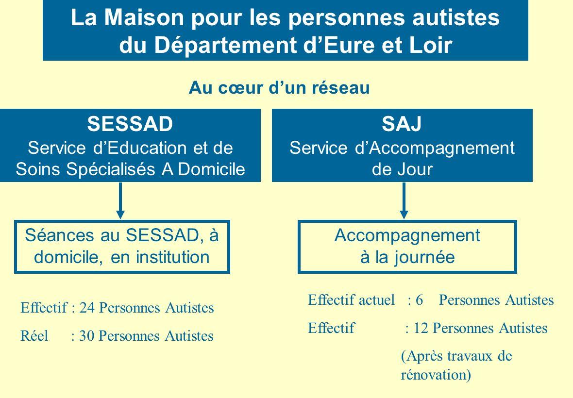 La Maison pour les personnes autistes du Département d'Eure et Loir