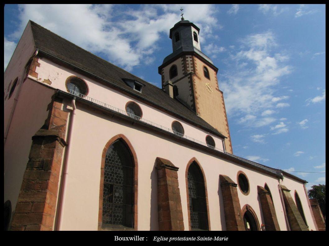 Bouxwiller : Eglise protestante Sainte-Marie