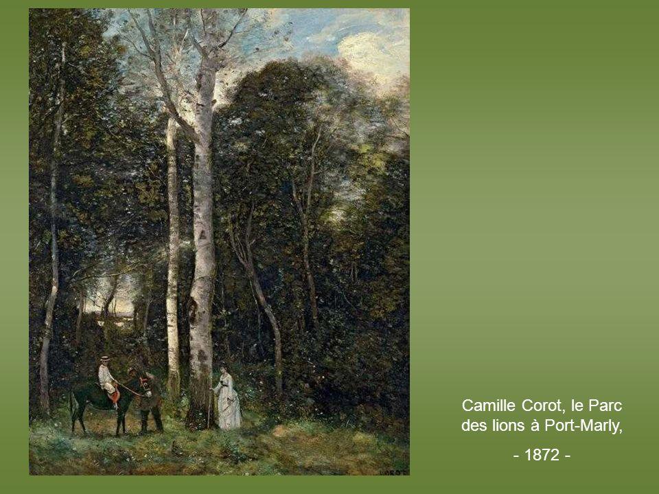 Camille Corot, le Parc des lions à Port-Marly,