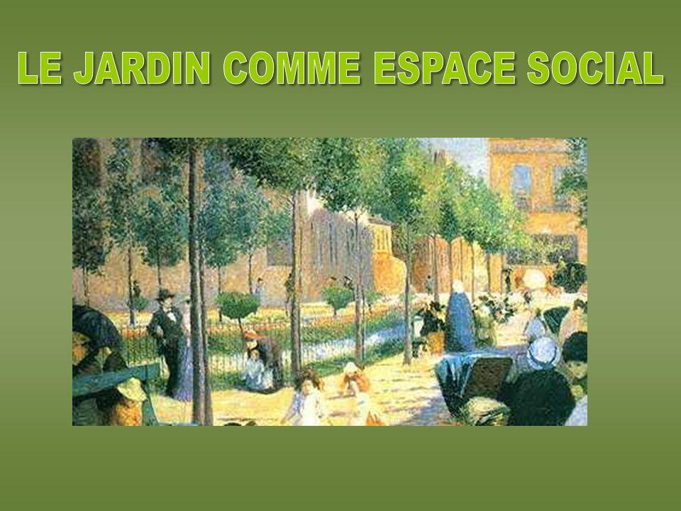 LE JARDIN COMME ESPACE SOCIAL