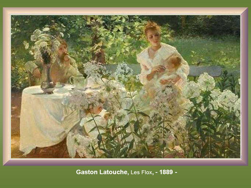 Gaston Latouche, Les Flox, - 1889 -