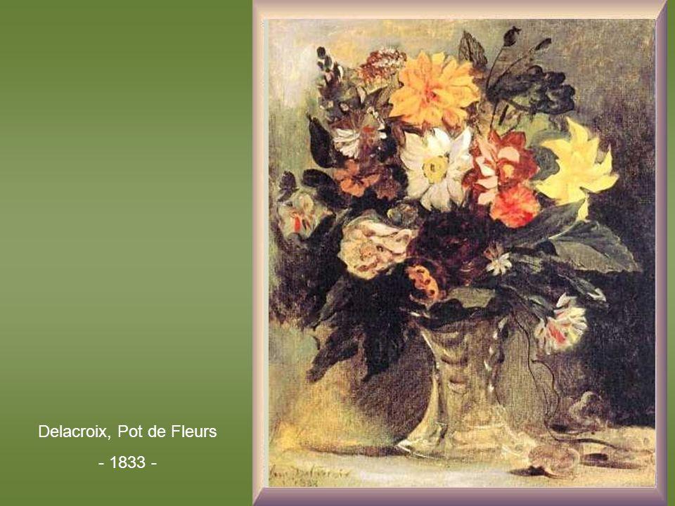 Delacroix, Pot de Fleurs