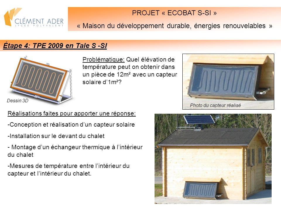 « Maison du développement durable, énergies renouvelables »
