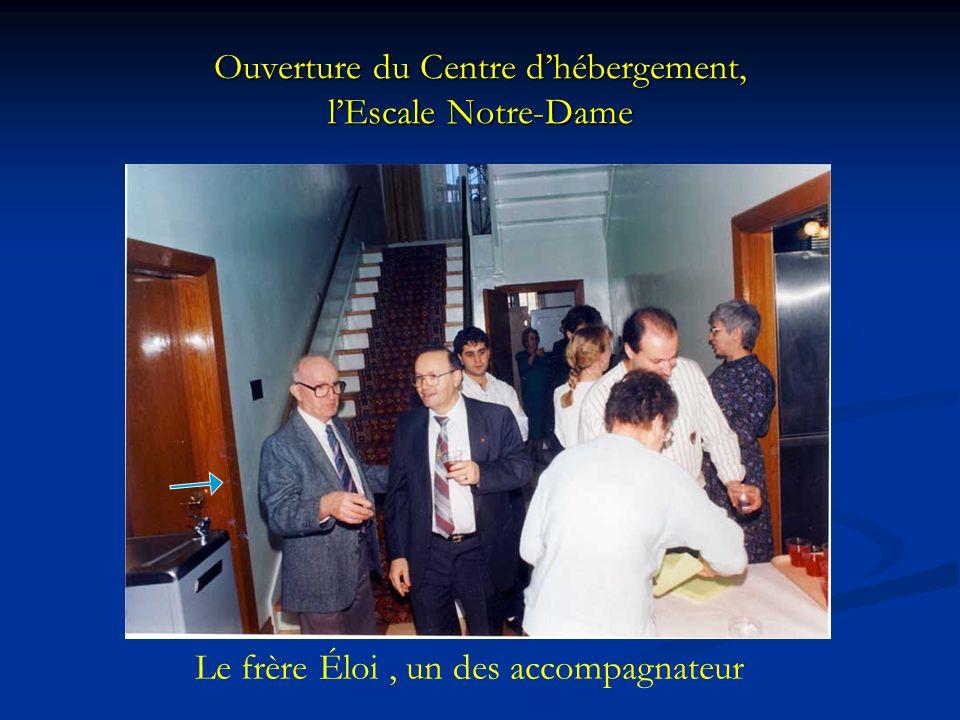 Ouverture du Centre d'hébergement, l'Escale Notre-Dame