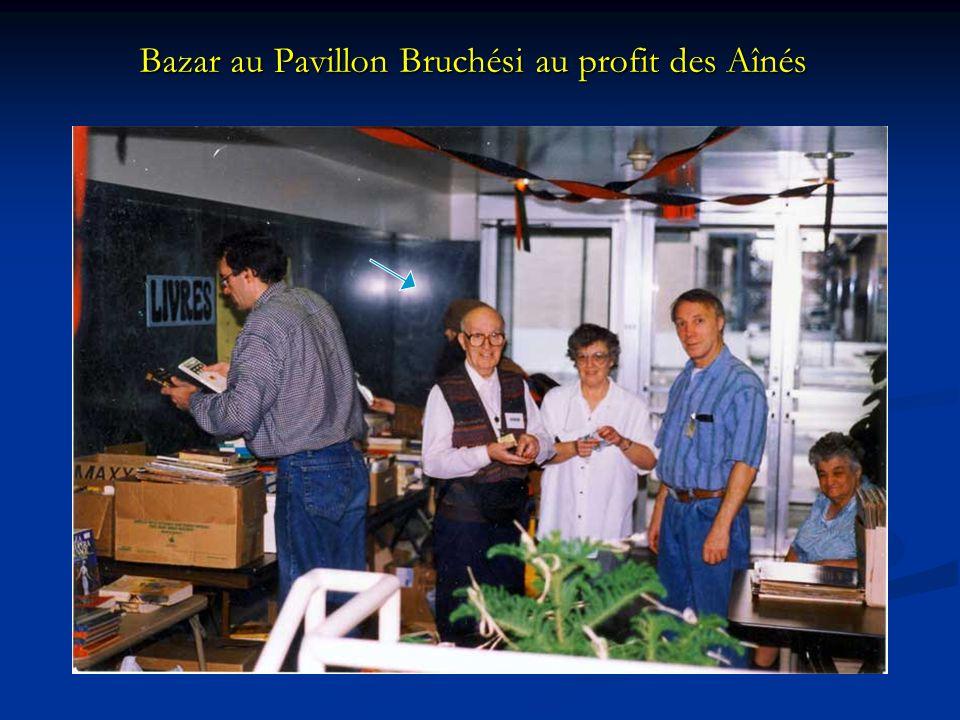 Bazar au Pavillon Bruchési au profit des Aînés