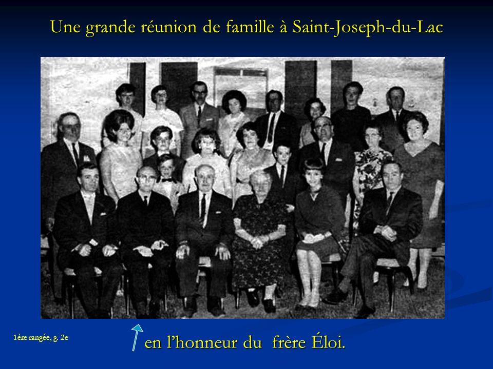 Une grande réunion de famille à Saint-Joseph-du-Lac