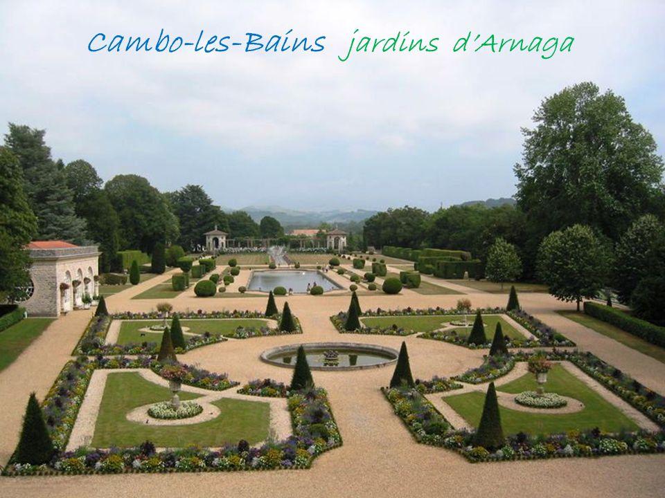 Cambo-les-Bains jardins d'Arnaga