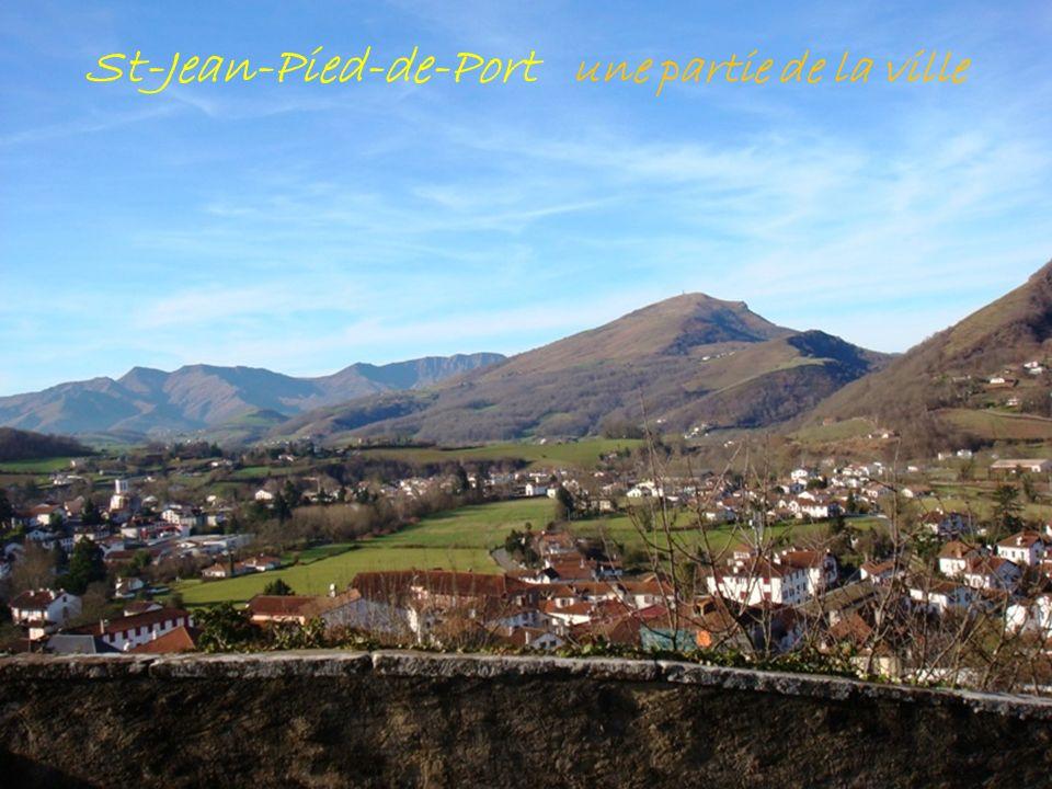 St-Jean-Pied-de-Port une partie de la ville