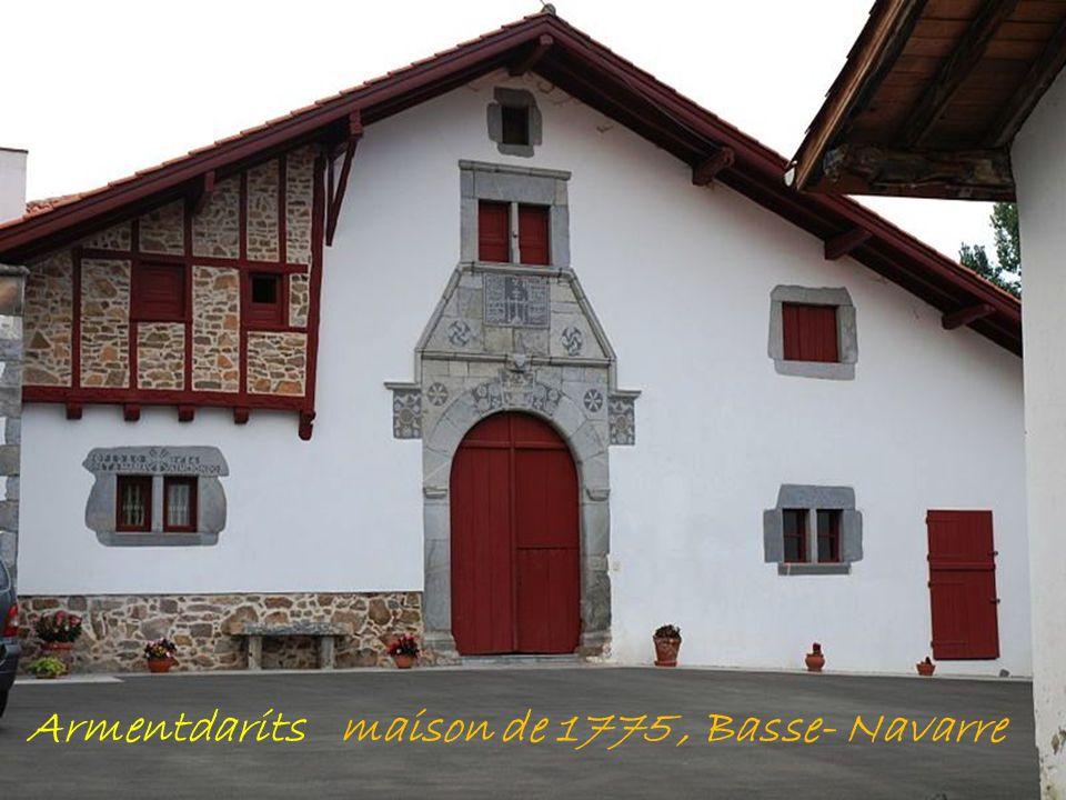 Armentdarits maison de 1775 , Basse- Navarre