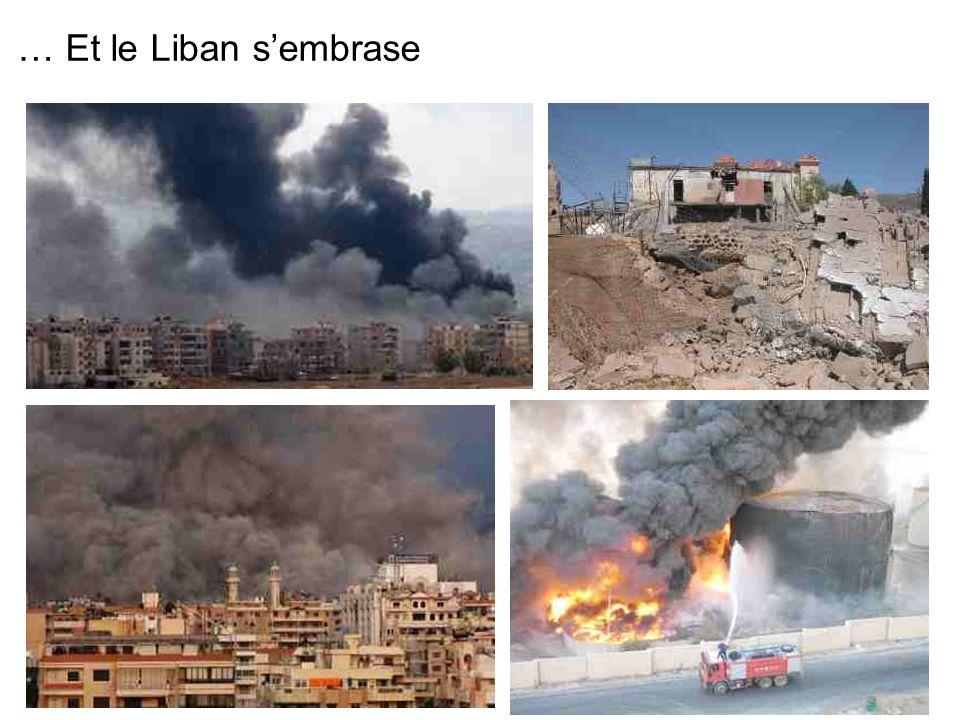 … Et le Liban s'embrase