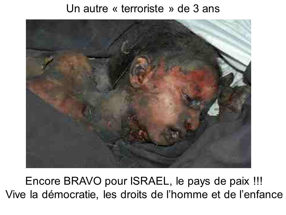Un autre « terroriste » de 3 ans