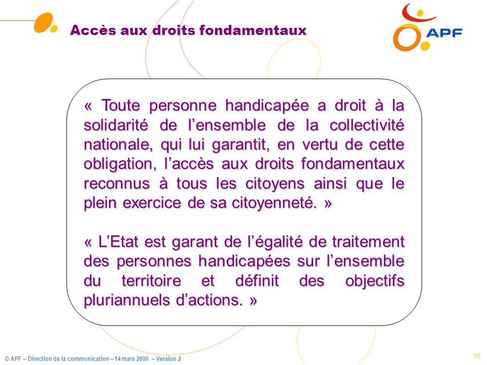 Accès aux droits fondamentaux