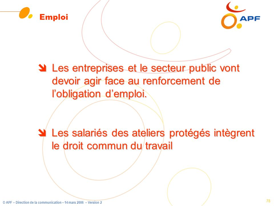 Emploi Les entreprises et le secteur public vont devoir agir face au renforcement de l'obligation d'emploi.