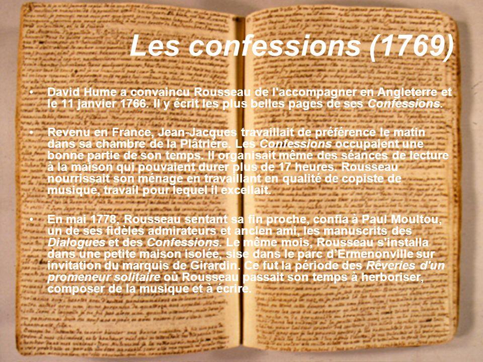 Les confessions (1769)