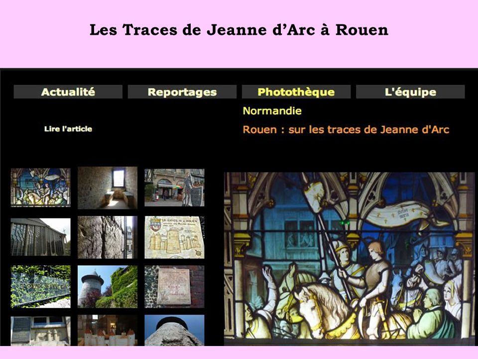 Les Traces de Jeanne d'Arc à Rouen